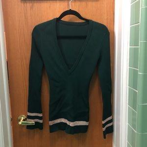 Green Knit Sweater!💚💚💚